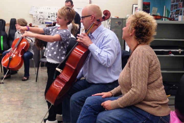 Fifth Grade Orchestra Parent Night