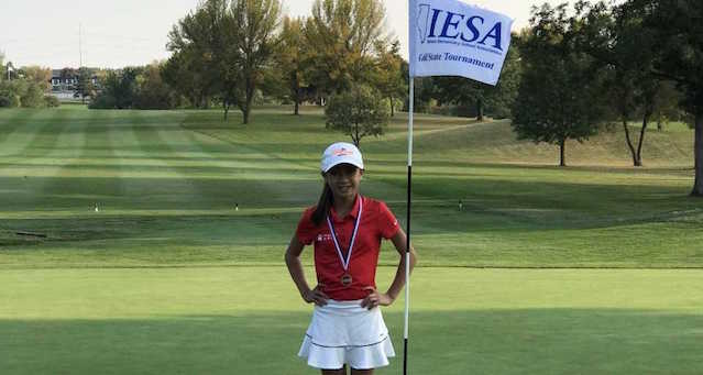 Congratulations, Ihnera, on your 6th Place finish at the IESA State Golf Tournament!