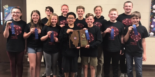 Congratulations to the Metcalf Scholastic Bowl team for winning Sectionals! They are headed to the State Championship in Peoria on May 4.