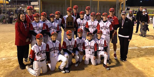 Congratulations to the Metcalf Baseball team!  Our Wildcats took 2nd place at the IESA State Baseball Tournament!