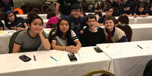 6th-8th MathCOUNTS team competed at State in Lisle, IL on Saturday, March 4. Great job Wildcats!